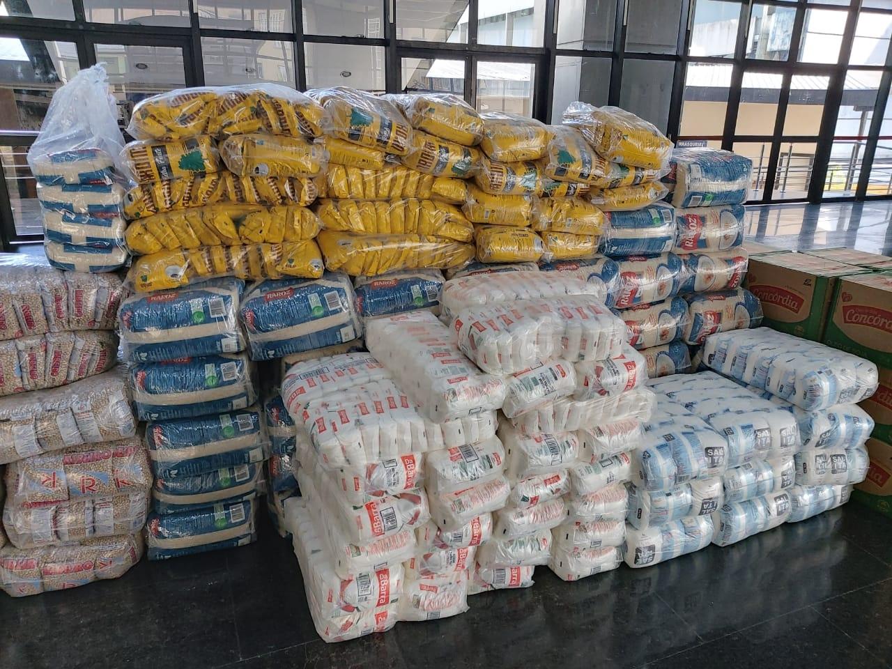 Sindnapi doa 4,7 toneladas de alimentos
