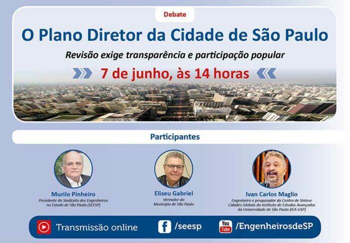 Seesp debate revisão do Plano Diretor da Cidade