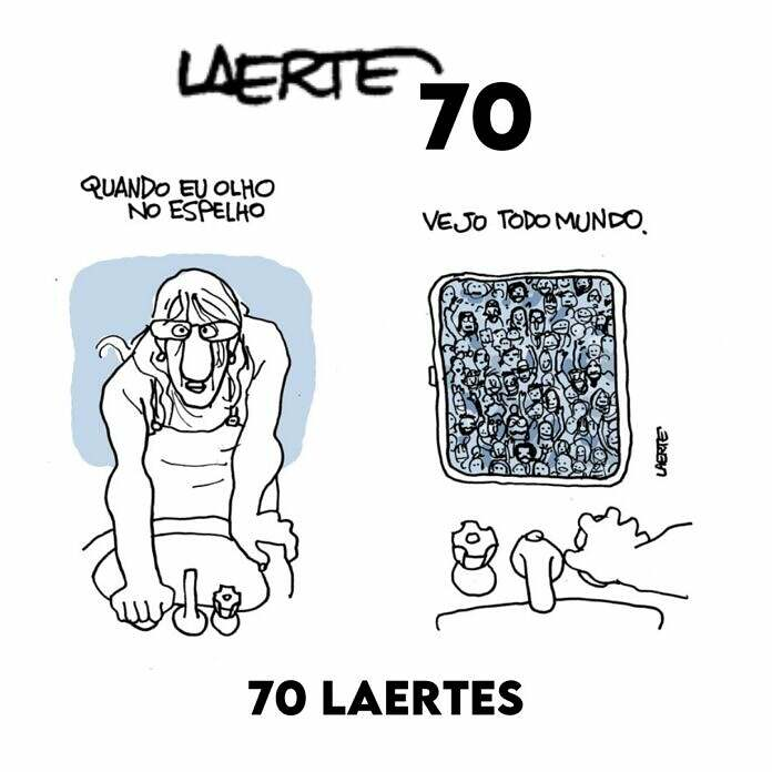 Sindicalismo deve a Laerte, que faz 70