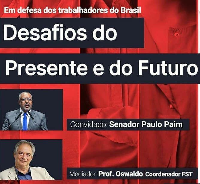 Paulo Paim fala sobre desafios dos trabalhadores
